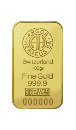 Lingotto Oro 100 gr.