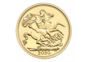 Sterlina oro Fior di Conio 2020