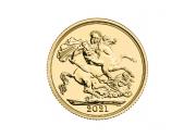 Sterlina oro Fior di Conio 2021